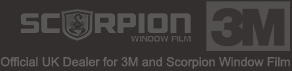 Official Scorpion Window Film & 3M UK Distributor